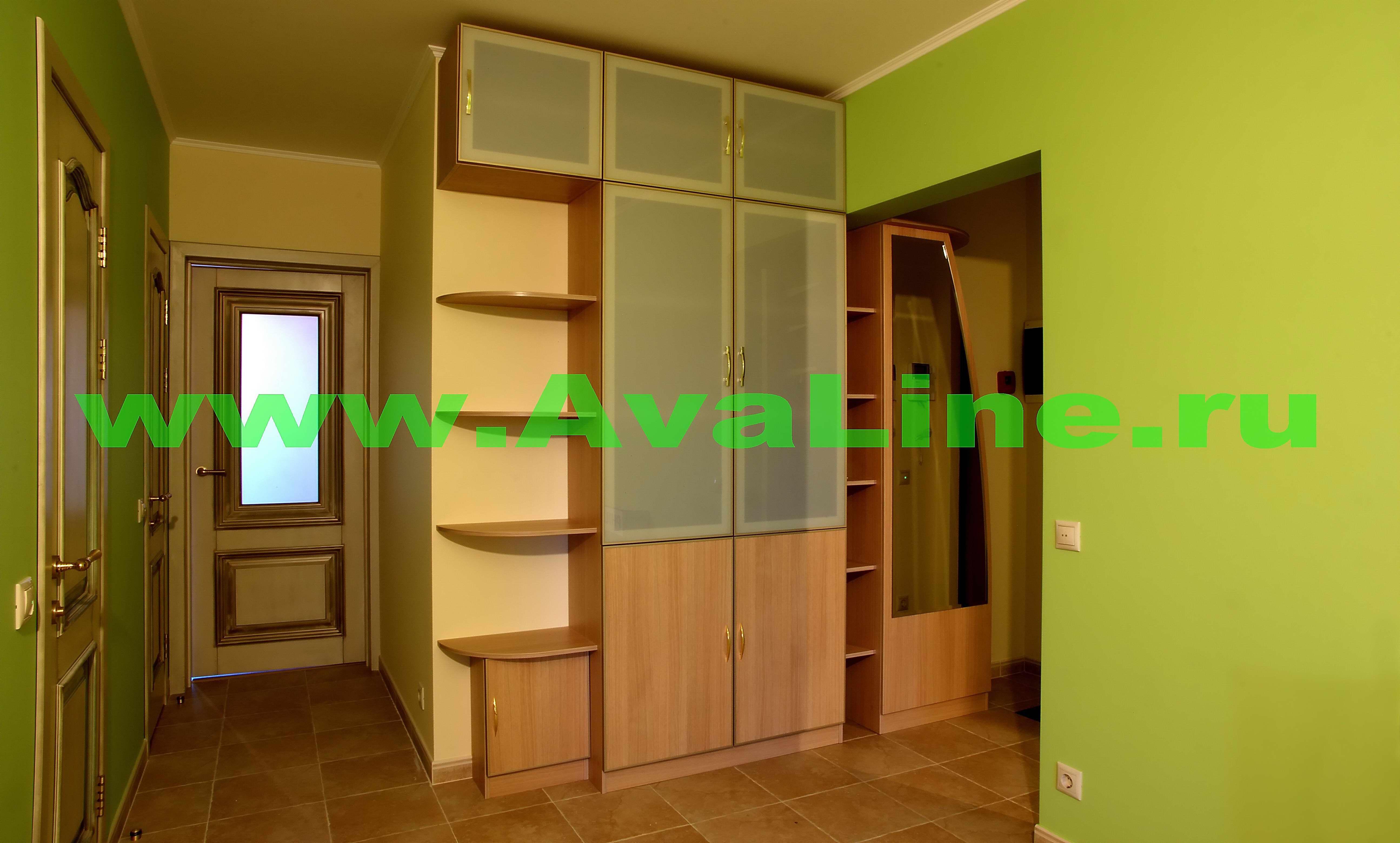 Шкафы, шкафы-купе и другая мебель для прихожих комнат. фото .